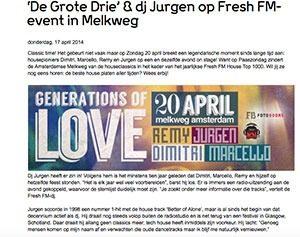 De grote drie marcelineke 300x237 - 'De Grote Drie' & DJ Jurgen in Melkweg