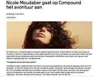 nicole moudaber compound marcelineke 300x246 - DJ Nicole Moudaber gaat het avontuur aan