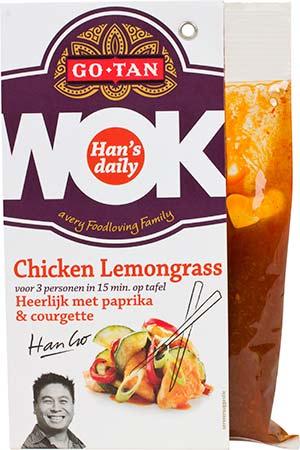 Chicken Lemongrass 2D - Lekker wokken met citroengras