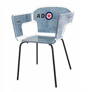 stoel aviator van acrilaLR - Plexiglas meubels