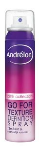 Andrélon Pink Styling Go For Texture Definition Spraymg 80x300 - Trend: Droogshampoo