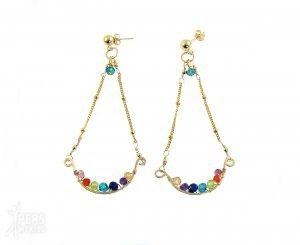 be a rainbow oorbellen van goud en edelstenen 300x245 - Tijdloos, stijlvol en handgemaakt