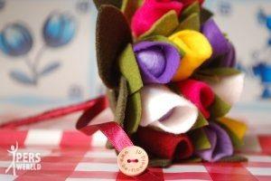 be flowerd 5 300x200 - Vilten bruidsboeket