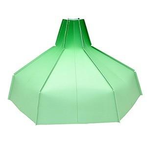 Folded Lampshade green GRADIENT papier design vouw lampenkap Pepe Heykoop MoreThanHip groenmg - Folded Lampshade