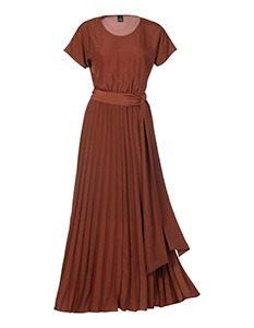 Madeleine Fashion Maxi jurk met modueuze pissrok 17990mg 233x300 - Shades of Nature