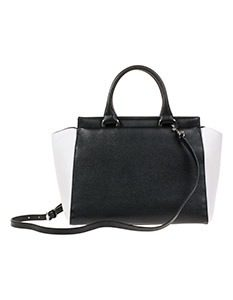 Madeleine Fashion Tas in trendy two tone look 29990mg 233x300 - Black & White accessoires