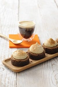 Senseo Brownies 609 200x300 - Heerlijke mini espresso brownies