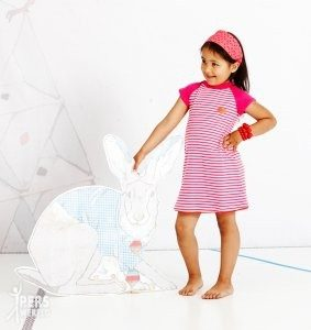 albababy ea dress pink 283x300 - Duurzame kinderkleding