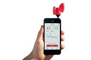 vaavud smartphone mjolnir windmetermg 300x200 - Windmeter voor je gsm