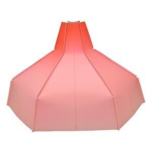 Folded Lampshade red GRADIENT papier design vouw lampenkap Pepe Heykoop MoreThanHip roodmg - Folded Lampshade