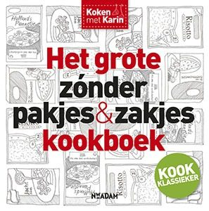 Luiten Karin. Het grote zonder pakjes en zakjes kookboek 297x300 - Zónder pakjes & zakjes kookboek