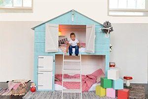 bedstee in kleur 1mg 300x200 - Trendy slaap/speelhuis