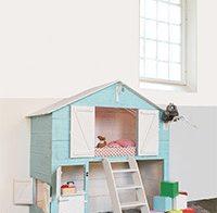 Trendy slaap/speelhuis