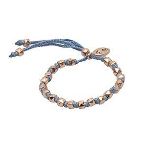 rakhi balance marina blue 100 pure zijdemg - Rakhi armband by Jozemiek