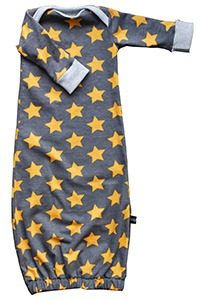 slaapzakje stars grey orangemg 205x300 - Biologische babykleding
