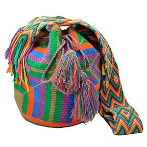 wayuu mochila susu ibiza style boho bohemian uniek one of a kind handgemaakt indianen colombia 12 morethanhipkopiekopiemg - Wayuu Mochila bag