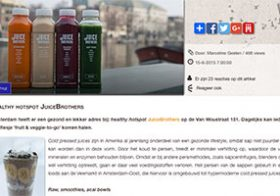 Blog Healthy hotspot JuiceBrothers