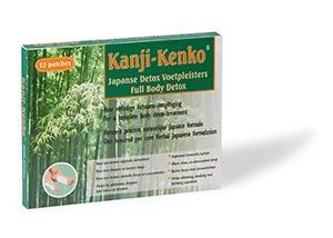 kanji kenko 12 patch marcelineke 300x214 - Detoxen via Japanse voetpleisters