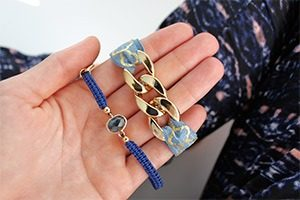 rio by jozemiek bracelets armband en elastiek marcelineke 300x200 - Armband annex haarelastiekje