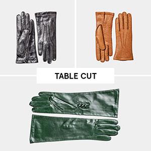 Hestra Table Cut Women 01 marcelineke - Handschoenen van houthakkersjasjes