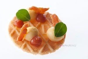 Natuurboterwafel met cheddar spek tomaat chili marcelineke 300x200 - Streetfood uit de Middeleeuwen