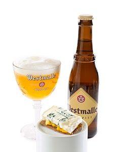 Amandelbrood met Westmalle Trappist marcelineke 225x300 - Koekje met Westmalle Tripel