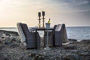 oesterdiner marcelineke 300x200 - Intiem privé oesterdiner op het Wad