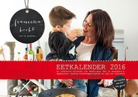 Met Eetkalender nooit meer 'Wat zal ik koken?'