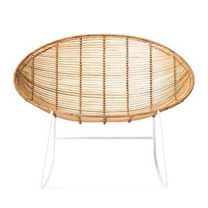 Bloomingville schommelstoel marcelineke - Rotan schommelstoel