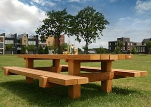 Picknicktafel Bill Zwaartafelen 3 marcelineke 300x212 - Onverwoestbare picknicktafel